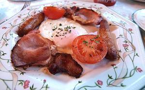 Le petit déjeuner irlandais